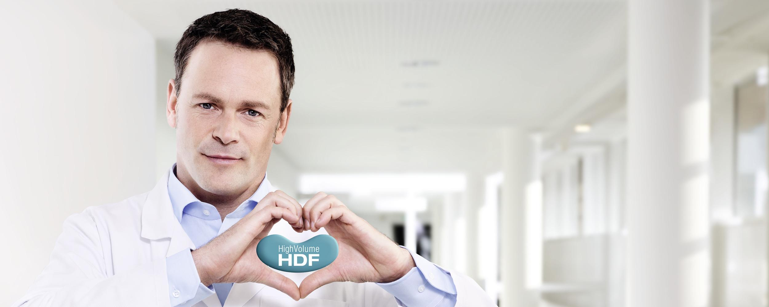 HighVolumeHDF® de Fresenius Medical Care